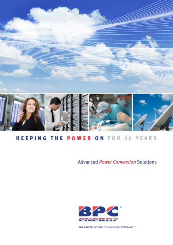 BPC Energy Product Brochure