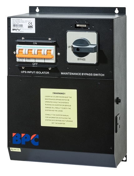 Three Phase Bypass Switch