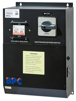 External Maintenance Bypass Switches From Bpc Energy