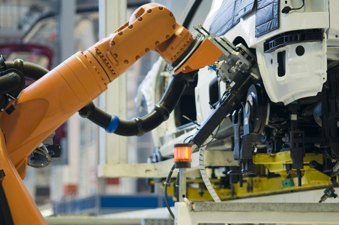 Factory robot arm2