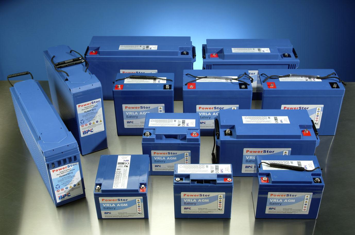 PowerStor Battery Range