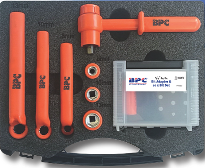 Battery Insulated Tool Kit